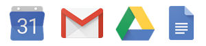 G Suite Application Icons